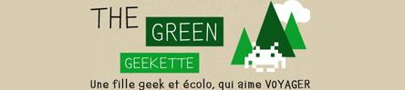 Bannière TheGreenGeekette