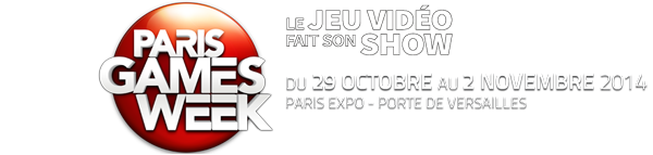 Titre Paris Games Week 2014