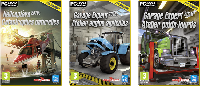 Ravenscourt d voile trois jeux de simulation for Garage poids lourds paris
