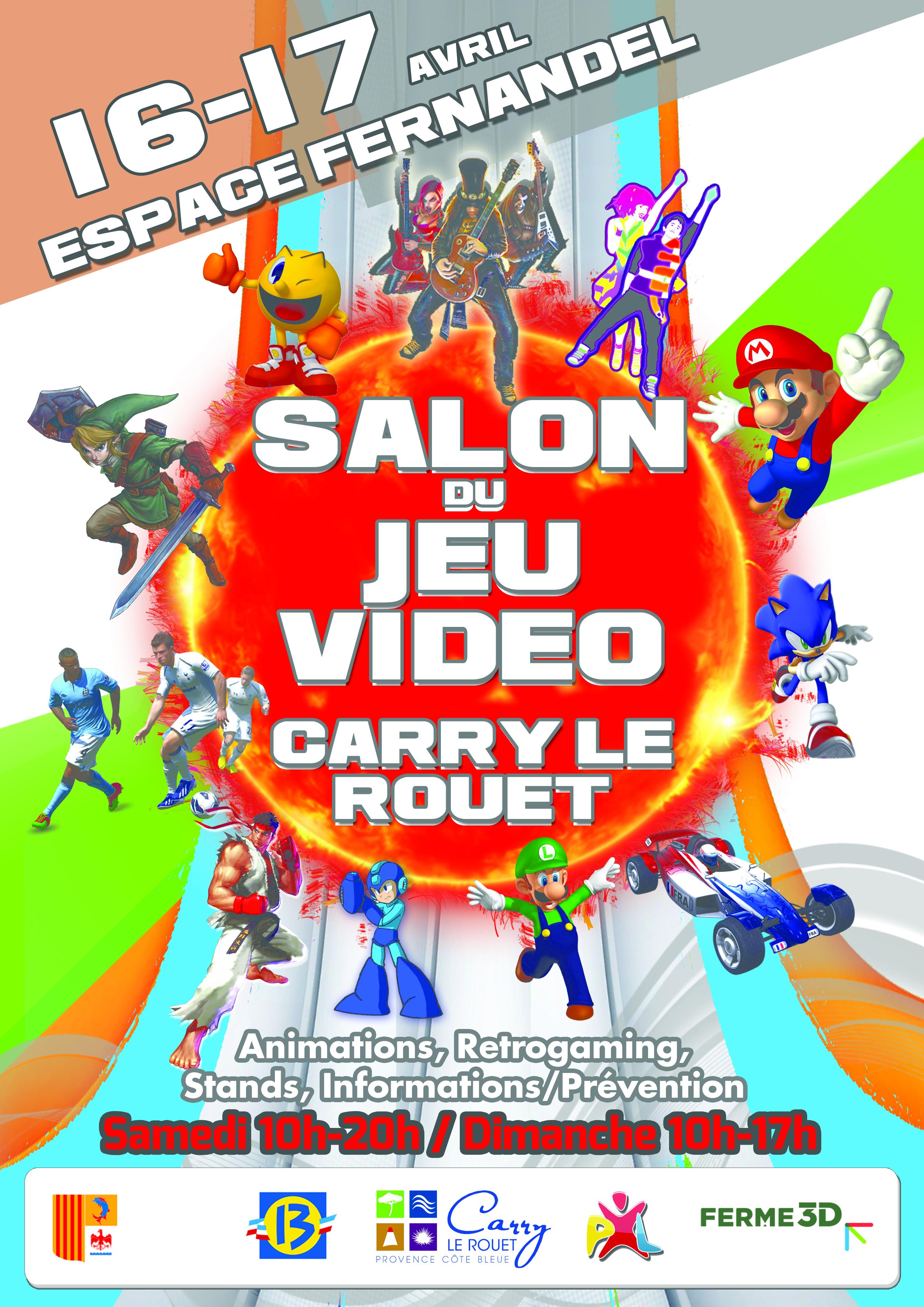 Salon du jeu vid o carry le rouet for Salon jeu video paris