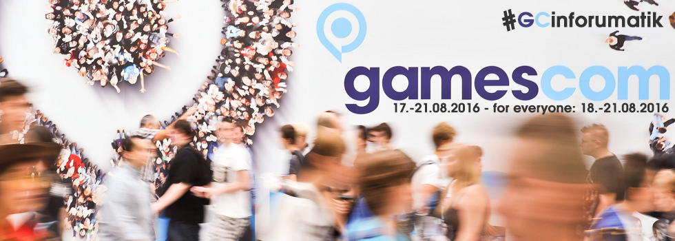 Gamescom 2016 : Celebrate the games !