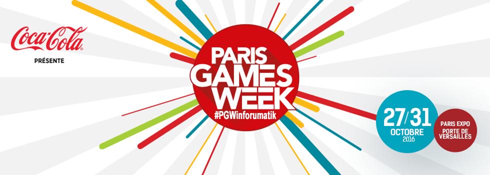 Paris Games Week sur inforumatik !