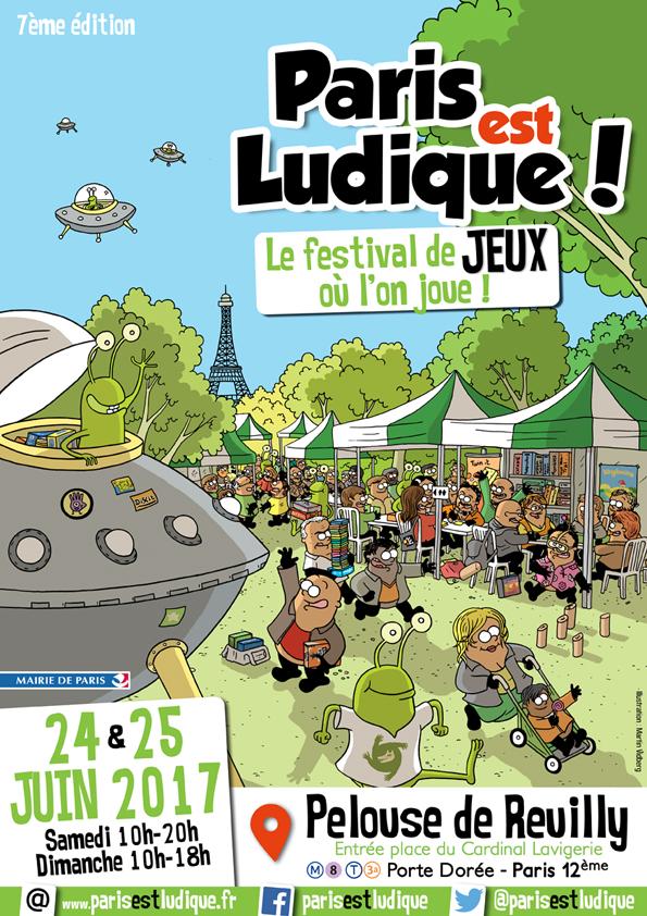 """Festival """"Paris est Ludique"""" 2017"""