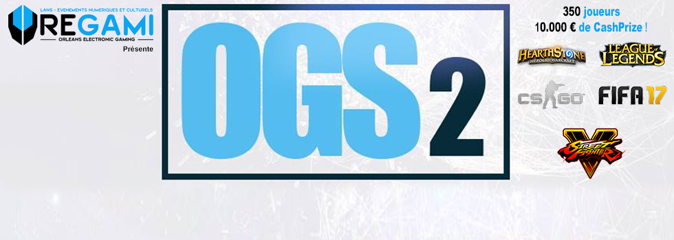 [AGENDA] Orléans Game Show #2 by Oregami