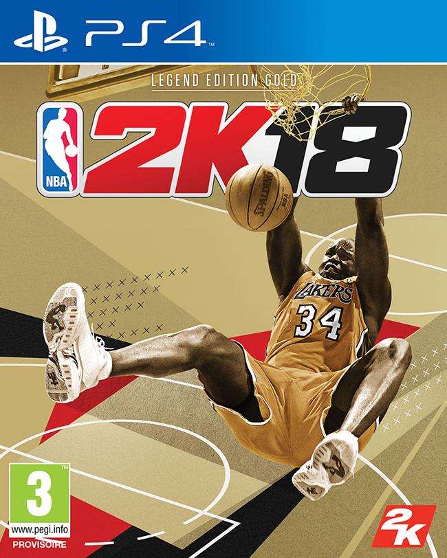 NBA 2K18 Legend Edition Or