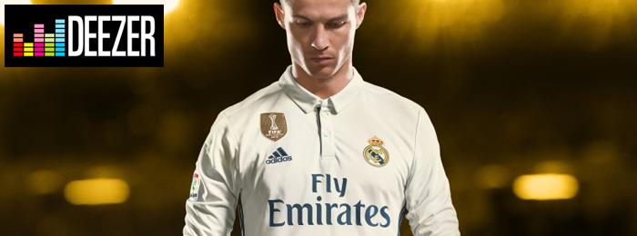 FIFA 18 Deezer