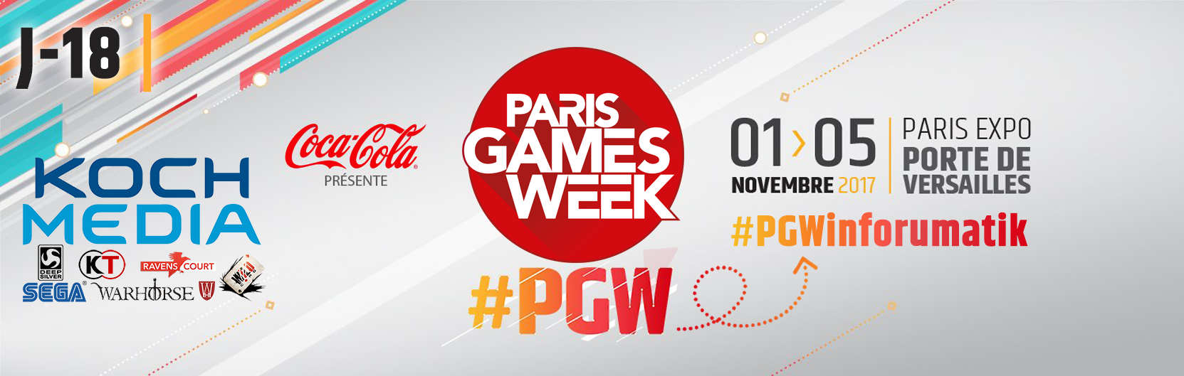 [J-18] Paris Games Week 2017 : Koch Média