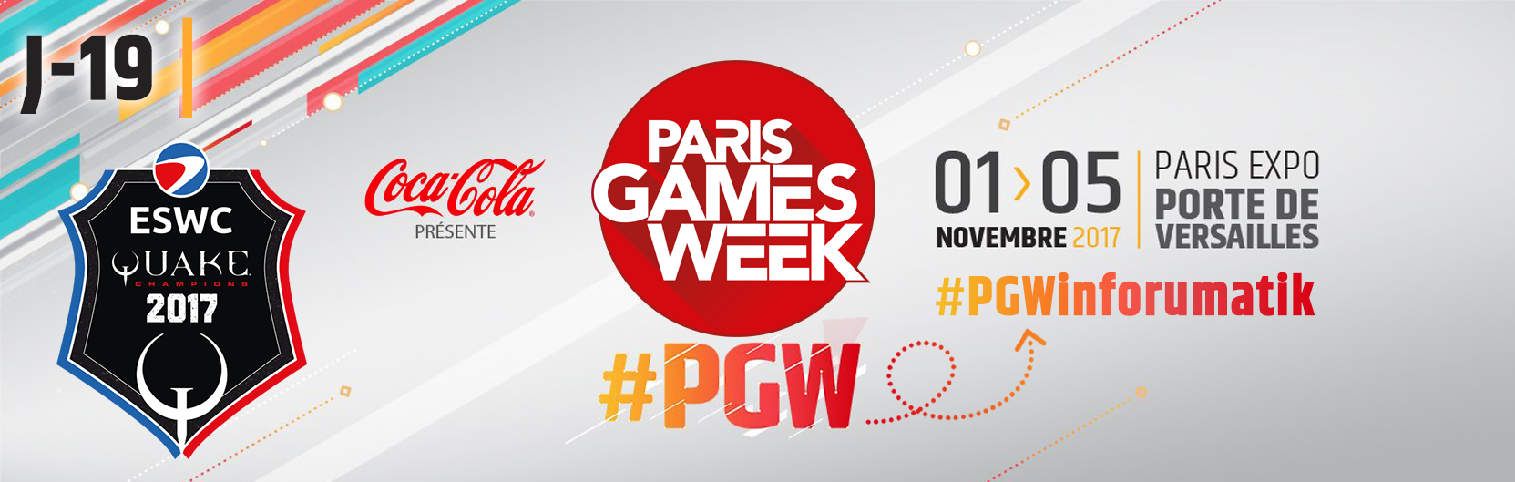 [J-19] Paris Games Week 2017 : ESWC Quake Champions 2017
