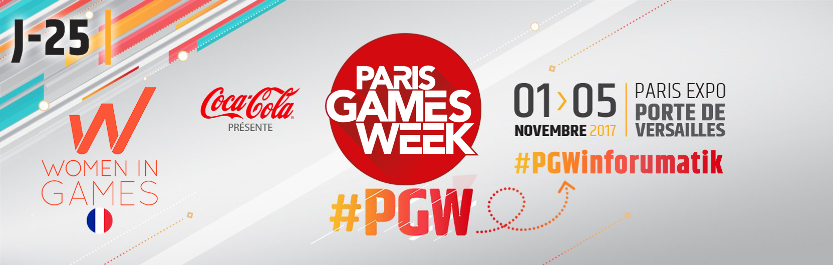 [J-25] Paris Games Week 2017 : Women in Games France