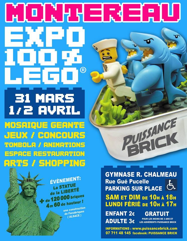 Convention LEGO Puissance Brick 2018
