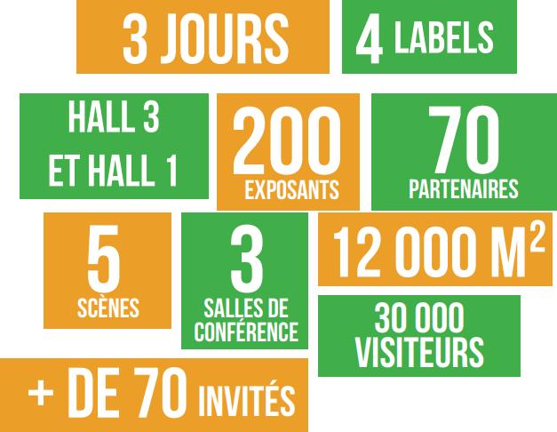 Bordeaux Geek Festival 2018 : Les chiffres