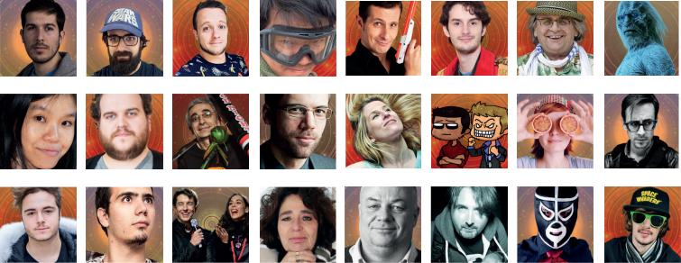 Bordeaux Geek Festival 2018 : Les invités