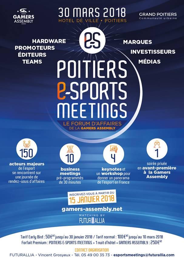 Poitiers e-Sports Meetings #1