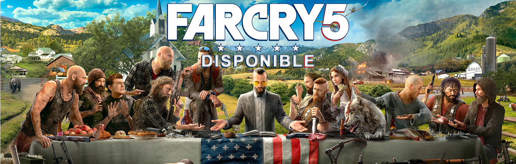 Far Cry 5 disponible !