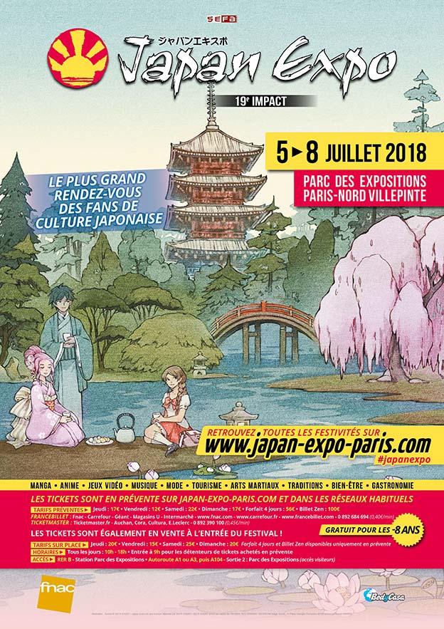 Japan Expo 2018 : 19ème impact