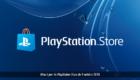 Playstation Store : 9 octobre 2018