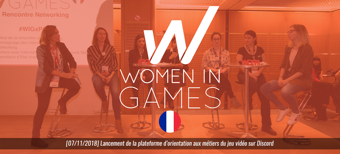 2018-11-07 Women in Games France - Discord