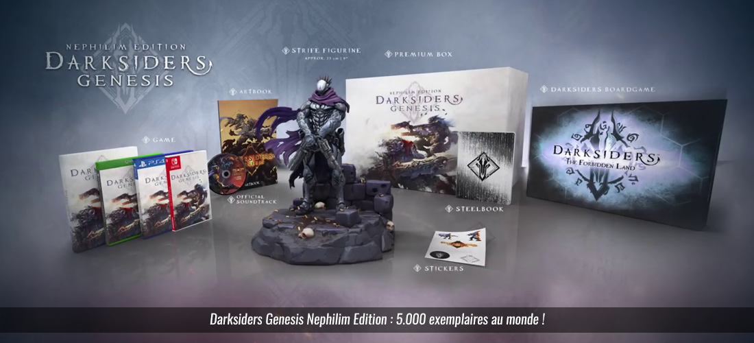 Darksiders Genesis Nephilim Collector Edition