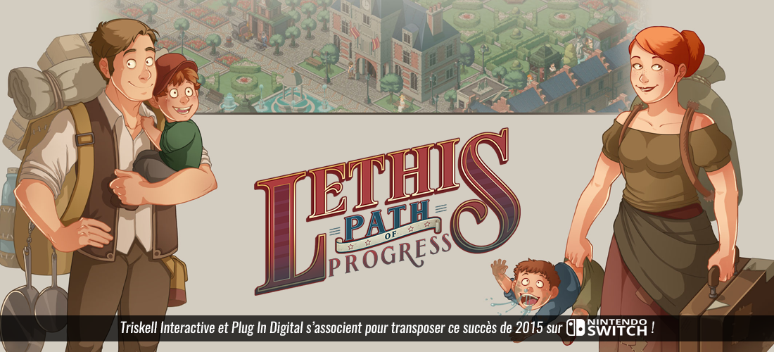 Lethis : Path of the Progress sur Switch
