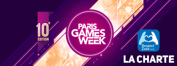 Paris Games Week 2019 : La charte