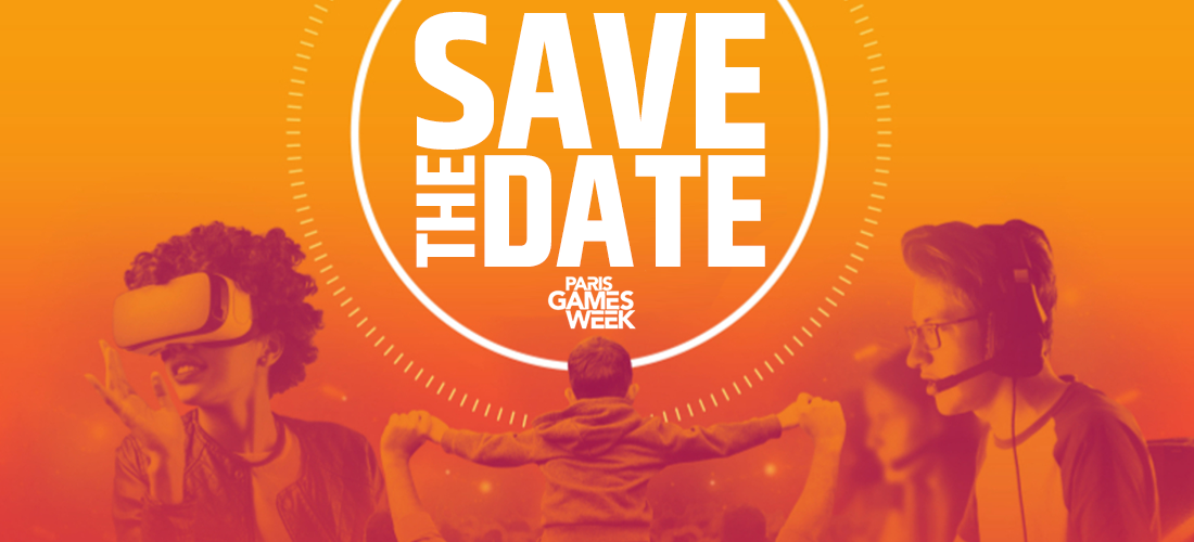 Paris Games Week 2019 : #SAVETHEDATE