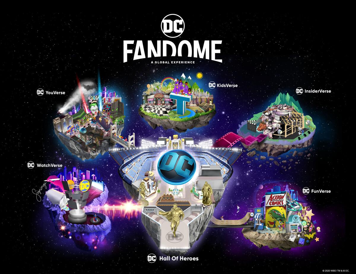 DC FANDOME : Map