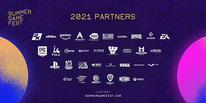 Summer Game Fest PARTNERS 2021